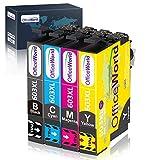 OFFICEWORLD 603XL Cartucce d'inchiostro Sostituzione per Epson 603 XL 603XL per Epson Expression Home XP-2100 XP-2105 XP-3100 XP-3105 XP-4100 XP-4105, Epson WorkForce WF-2810 WF-2830 WF-2835 WF-2850