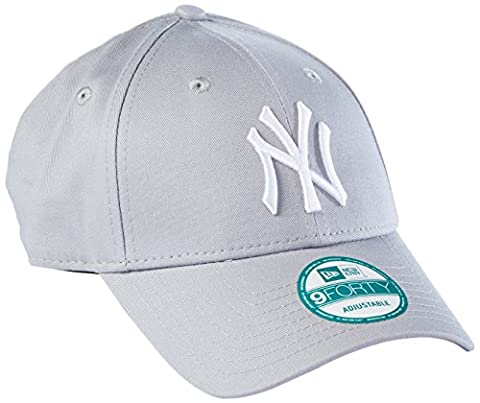 New Era Kappe Herren New York Yankees, Grau/Weiß , OSFA, 10531941