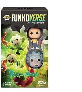 Funko- Stoke Funkoverse (4 Unidades) English Board Game, 43484, Multicolor