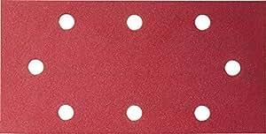 Bosch 2608608X97 Pack de 10 Feuilles abrasive C430 93 x 186 mm 2x40/ 3x80/ 3x120/ 2x180