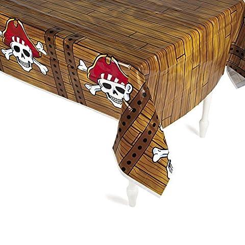 Piraten Tischdecke mit Totenköpfen Piratenparty Piratenschiff Seeräuber Palandi®