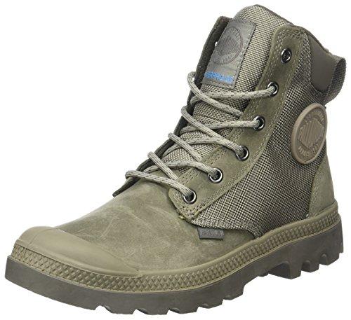 Palladium Unisex-Erwachsene SPOR Cuf Wpn U Hohe Sneaker, Grau (Fallen Rock/Bungee Cord), 45 EU