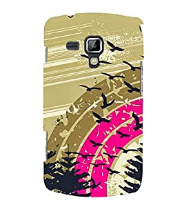 Rainbow Design 3D Hard Polycarbonate Designer Back Case Cover for Samsung Galaxy S Duos 2 S7582