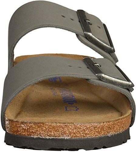 Birkenstock Arizona NU WB Gunmetal SFB Grey
