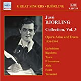 Bjorling, Jussi: Opéra Arias and Duets (1936-1944)