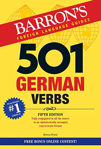 501 German Verbs (501 Verbs Series)