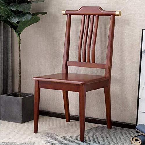MJK Sillas de comedor, sillas de cocina laterales modernas con patas de madera para comedor, dormitorio, sala de estar multifuncional,Granate