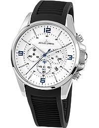 Jacques Lemans Herren-Armbanduhr Liverpool Analog Quarz Plastik 1-1799B