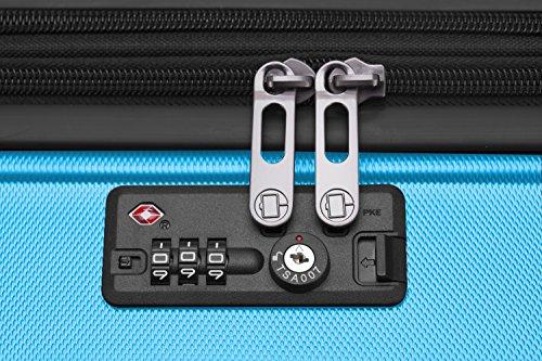 HAUPTSTADTKOFFER - X-Berg – Koffer Trolley Hartschale, TSA, 65 cm, 89 Liter, Cyanblau - 9
