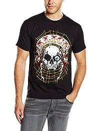 Unbekannt Herren T-Shirt Band Back Patch
