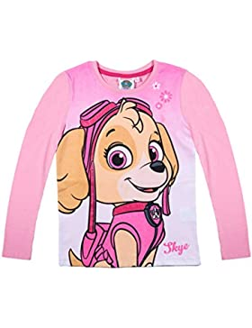 Paw Patrol Chicas Camiseta mangas largas 2016 Collection - Rosa
