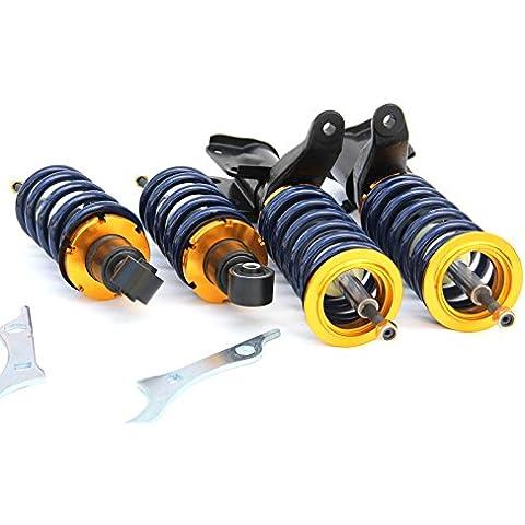 supeedmotor regolabile Coilovers Sospensione Kit per Honda Civic EP1EP2EP3Typer VTEC–completamente regolabile