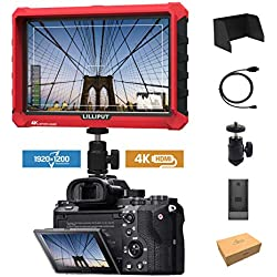 Lilliput A7S 7 1920x1200 IPS Ecrans pouces Moniteur sur Caméra Camera Field Monitor 4K HDMI Input output Video DSLR Mirrorless Camera SONY A7 A7R A7S II A6500 Panasonic GH4 GH5 Canon 5D IV DJI Ronin M