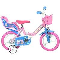 Dino Bikes 124RL-PIG Peppa Pig Bicycle, Pink, 12-Inch