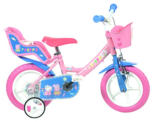 """Dino Bikes 124RL-PIG Peppa Pig 12"""" Bicycle"""