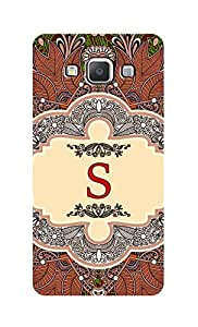 SWAG my CASE Printed Back Cover for Samsung Galaxy A5