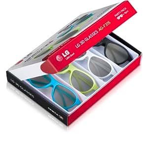 Attention 2 Choix! LG AG-F315 3D / Party Pack de 4 Cinema 3D Glasses