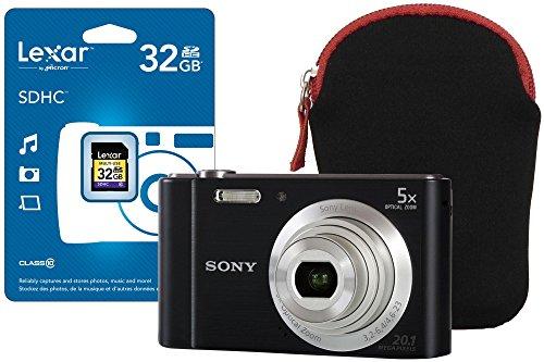 SONY-DSCW800BCEH-32GBCASE-DSC-W800-Black-Camera-Kit-inc-32GB-SD-Card-and-Neoprene-Case-Cameras-Digital-Cameras