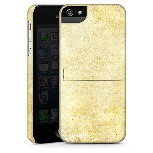 Apple iPhone X Silikon Hülle Case Schutzhülle Stein Look Muster Wand Premium Case StandUp