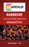 #9: SAPRETAILER Coconut Shell Charcoal Briquettes (10 kg) for Barbecue