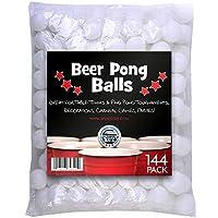 Bier-Pong-Blle-Tischtennisblle-Spiel-Sportiv-144-Stck-38mm-Weiss-Pingpong-Tischtennis-Blle-Beer-Pong-Tringspiel-Saufspiele-Ball-Party-Spiele-Trinkspiel-Tisch-Tennis