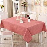 PQPQPQ Die Tischdecken aus Baumwolle Farbe Farbe Stil rechteckiger Couchtisch Tuch, 1, 60 * 60 cm