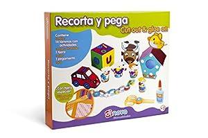 Dinova - Recorta y Pega, labores para niños (D0722056)