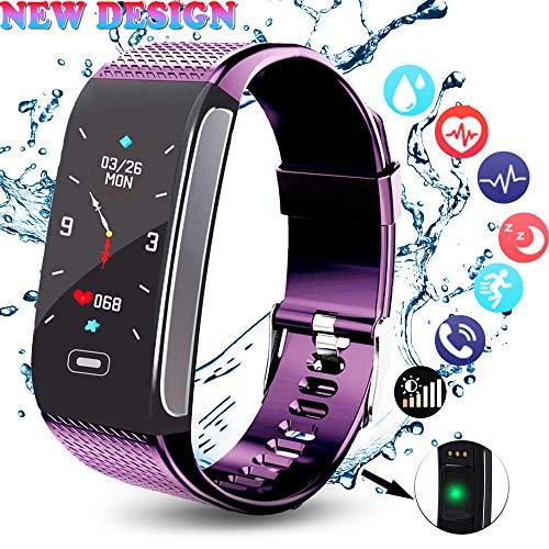 Fitness Armband HR mit Pulsmesser, Aktivitätstracker Fitness Tracker Blutdruck