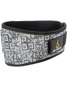 Cinturón de levantamiento de pesas, levantamiento olímpico, cinturón de peso, para hombres y mujeres, 15,24 cm...