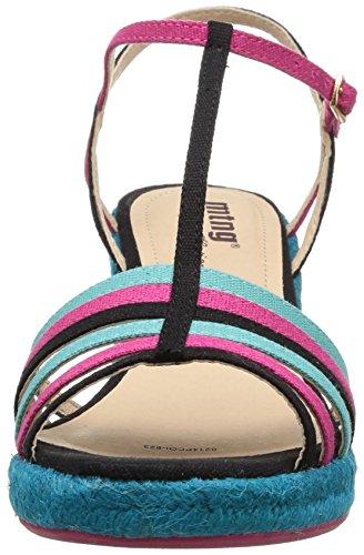 MTNG 52190 - Sandales pour femme noir (LONETI NEGRO)