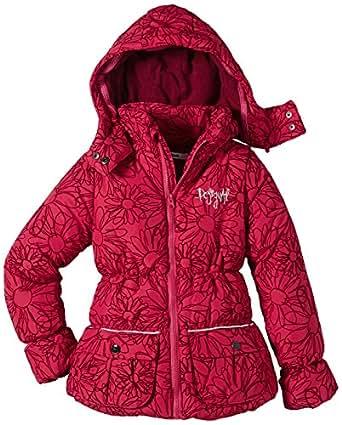 desigual tarifa manteau fleurs fille rouge 3062 fr 12 ans taille fabricant 11. Black Bedroom Furniture Sets. Home Design Ideas