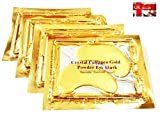 Premier Crystal Collagen Gold Eye Mask Anti Wrinkle Face Moisture Care Patch Pad Pack of 5