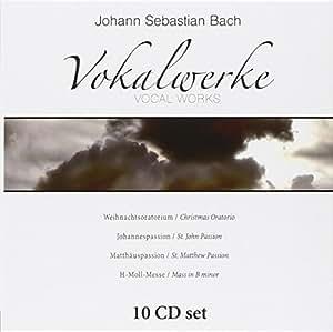 Johann Sebastian Bach's vocal works: Christmas Oratorio, St. John Passion, St. Matthew Passion & Mass in B minor