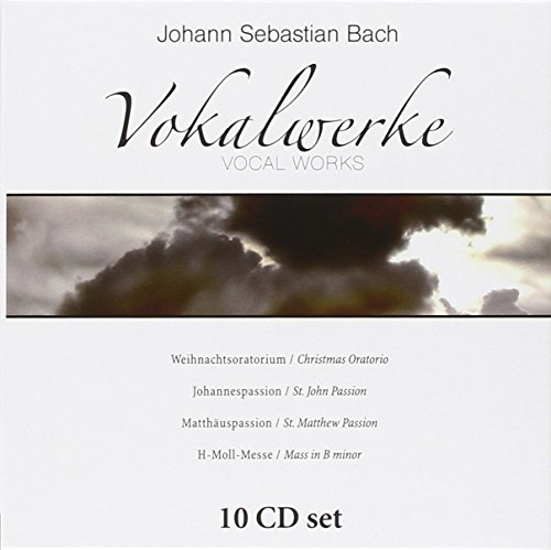 Johann Sebastian Bach's vocal works: Christmas Oratorio, St. John Passion, St. Matthew Passion & Mass in B minor [Import allemand]