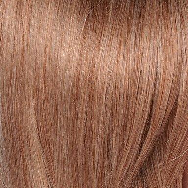MZP heißer Verkauf fabelhafte mittellange capless Perücken natürliche welligen menschliches Haar , medium auburn/bleach blonde