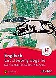 Englisch – Let sleeping dogs lie: Die wichtigsten Redewendungen / Buch mit Audios online