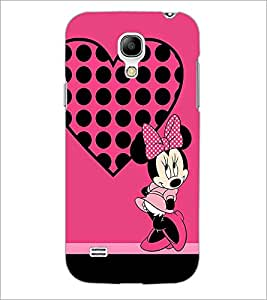 PrintDhaba Minnie Mouse D-1450 Back Case Cover for SAMSUNG GALAXY S4 MINI (Multi-Coloured)