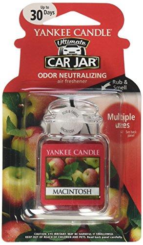 YANKEE CANDLE Car Gel Macintosh Auto-Lufterfrischer (Yankee Macintosh)