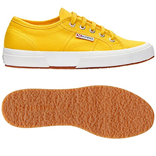 Superga Unisex-erwachsene 2750-cotu Classic Low-top Multicolour (jaune Tournseol)