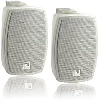 AMC iPlay 5WT Cabinet Wall Mount Loudspeaker - White (Pack of 2)