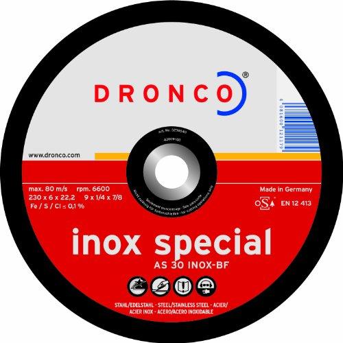 DRONCO SPECIAL METAL - DISCO CORTE METAL AS360 INOXIDABLE 350X2 8X22 23