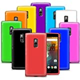 G-HUB® 10-in-1 Silicone Cases - MULTI PACK de 10x Fundas para OnePlus 2 (ONE PLUS TWO - 2015 Dual SIM Modelo) - Cada Funda está en una VARIEDAD DE COLORES