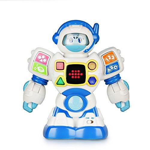 Happkid Robot de Aprendizaje Bilingüe Ingles Espanol...