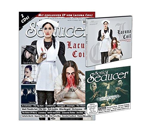 Sonic Seducer 05-2016 mit Lacuna Coil Titelstory + 2 CDs, darunter eine exkl. EP zum Album Delirium von Lacuna Coil, Bands: In Extremo, Saltatio Mortis, The 69 Eyes, Rob Zombie u.v.m.