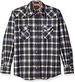 Pendleton Herren DA818 Button Down Hemd - Blau - X-Large/Hoch