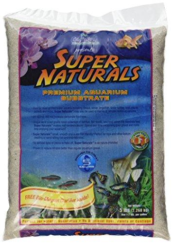 Carib Sea ACS05840 Super Naturals Crystal River Sand for Aquarium, 5-Pound 1