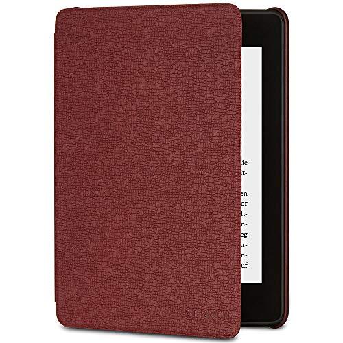 Amazon Kindle Paperwhite-Lederhülle (10.Generation - 2018), Bordeaux (Amazon-dienste Kindle)