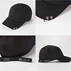 Generic Fashion Iron Ring Hats adjustable Baseball cap