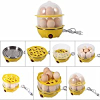 y store 2Layer Egg Boiler Cooker And Steamer With Steel Bowl