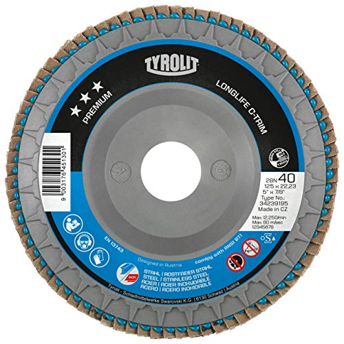TYROLIT 34239191Disc - Flapper-disc